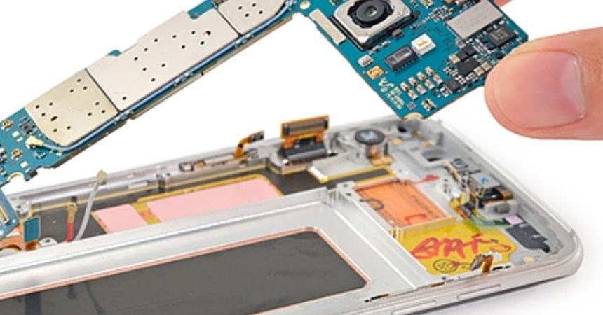 Como saber se a placa do Samsung queimou?